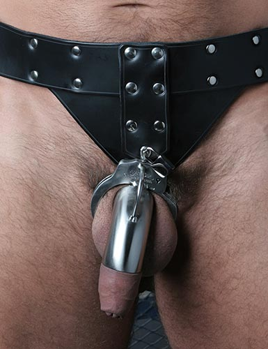 Locking Leather Houdini Harness