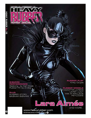 Heavy Rubber Magazine #35