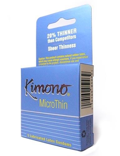Kimono Microthin Condoms