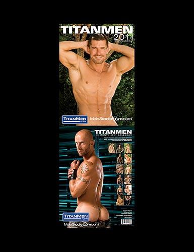 Titanmen Stockroom 2011 Calendar