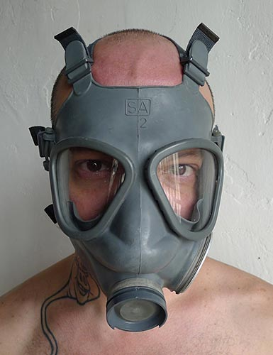 Finnish Military Gas Mask (Alternate Version)