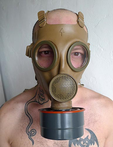 French Military Gas Mask