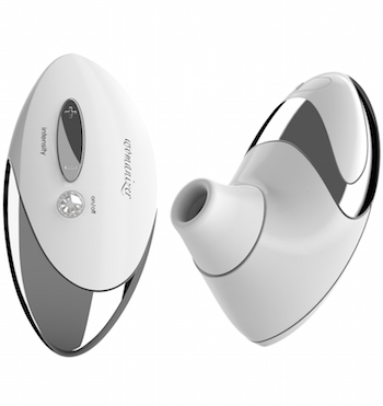 Womanizer Pro, White/Chrome