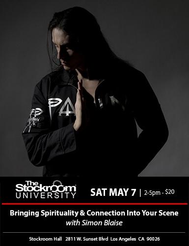 Stockroom University: Dirty Talk with Ashley Manta, 2-5pm