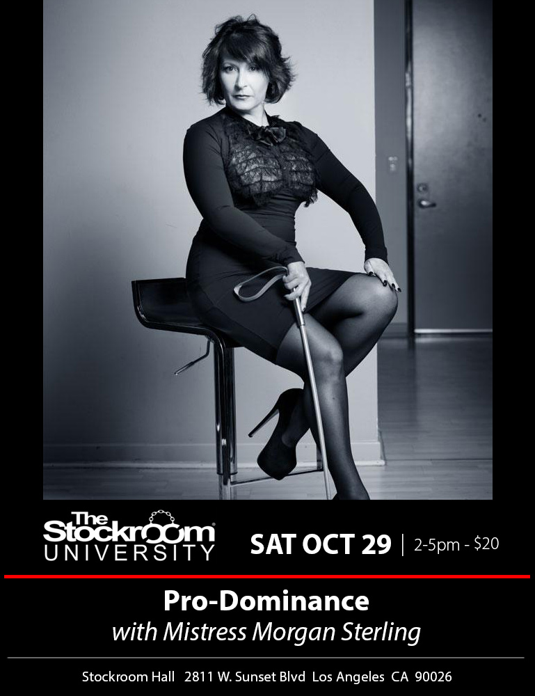 Stockroom University: Medical Play with Mistress Morgan Sterling