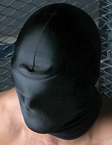 Spandex Hood W Blindfold-1602