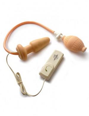 Expanding Vibrating Anal Plug