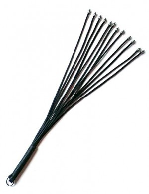 "20"" Thong Whip w/ Spiked Tails"