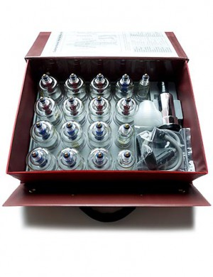 17-Piece Chinese Cupping Set