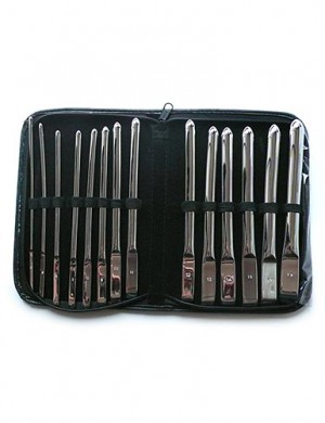 Flat Ended Urethral Hegar Sounds Kit - 14 Piece