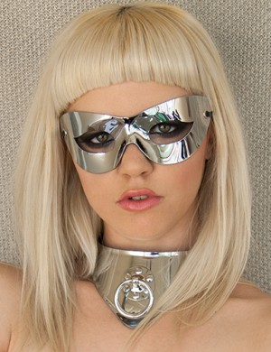Chrome Cat Mask - Lauren WK