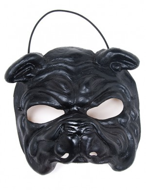 Black Bulldog Mask