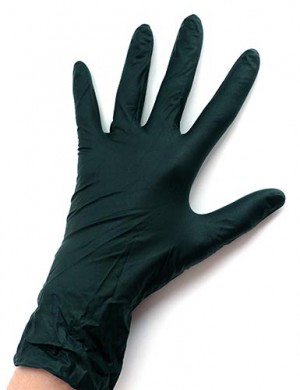 Black Dragon Nitrile Gloves