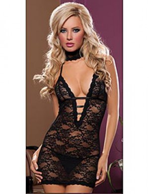 Seven til Midnight Affair 3-Piece Chemise Set