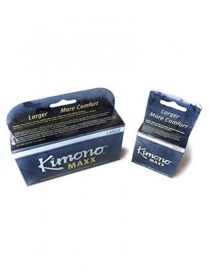 Kimono Maxx Large Condoms, 12-Pack