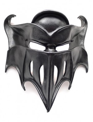 Black Knight Leather Mask