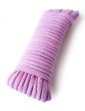 Cotton Bondage Rope, 5mm x 30ft, Pink