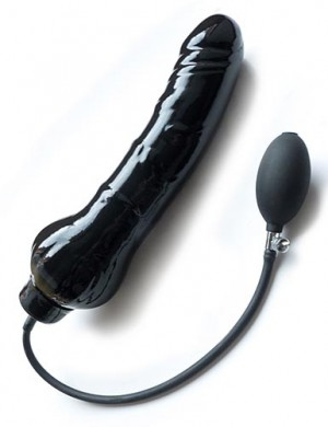 Large Inflatable Giganticus Dildo -Black