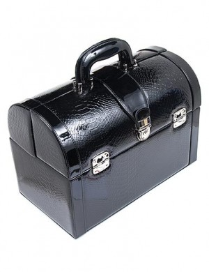 Devine Playchest - Black Python with Black Accents