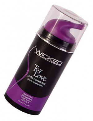 Wicked Sensual Care, Toy Love 3.3 oz.