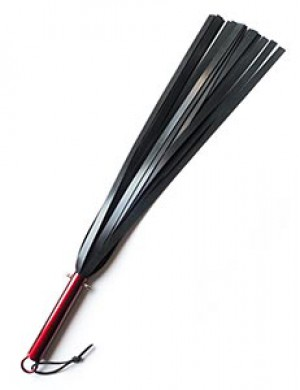 Sex and Metal Silicone Flogger The Provoker