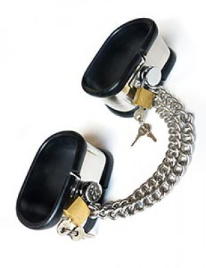 Steel Band Ankle Shackles