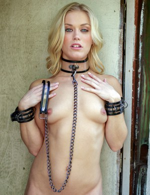Bare Bondage Collar & Leash - Ash Hollywood