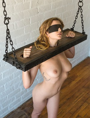 Bdsm blindfold bondage fetish restraint spank think