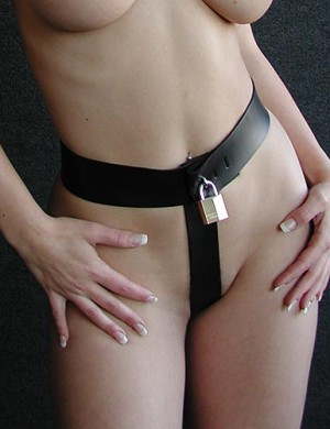 Strap-in Chastity Harness