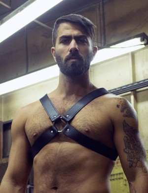 Leather Chest Harnesses
