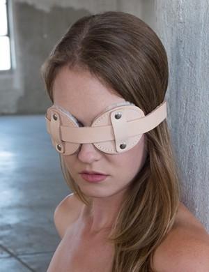 Institutional Fleece Lined Blindfold
