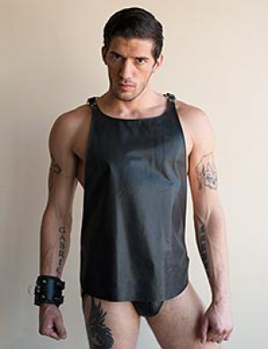 Butcher Leather Tank Harness