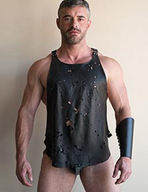 Shredder Leather Tank Harness