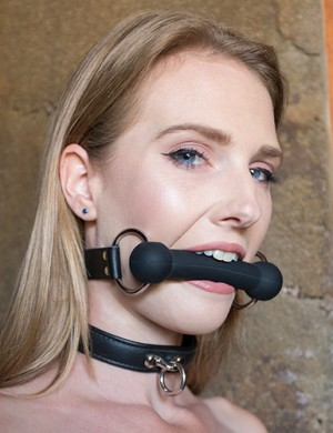 Silicone Bit Gag - Ashley Lane