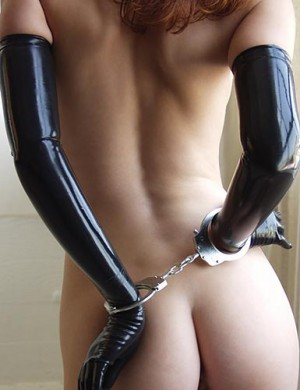 KinkLab Double-Lock Police-Style Handcuffs