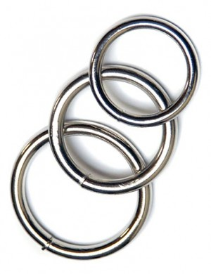 KinkLab Steel O-Rings, 3-Pack