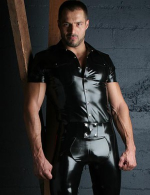 Latex Uniform Shirt