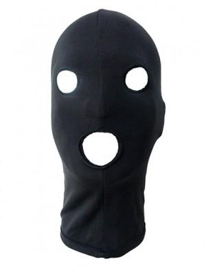 Spandex Hood, open eyes, open mouth, snug-fit