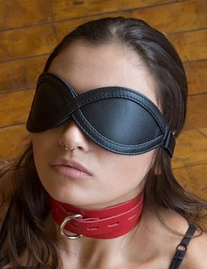 Adjustable Blindfold, Black