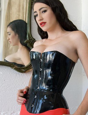 Syren Latex Basic Rubber Corset