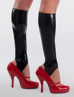 Syren Latex Knee High Stirrups