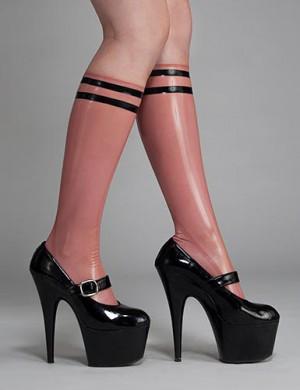 Syren Latex Varsity Socks