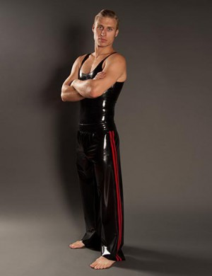 Men's Latex Track Pants