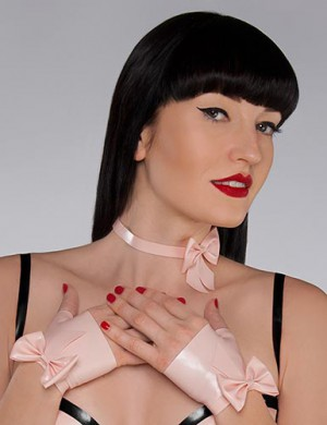 The Coquette, Bow Choker