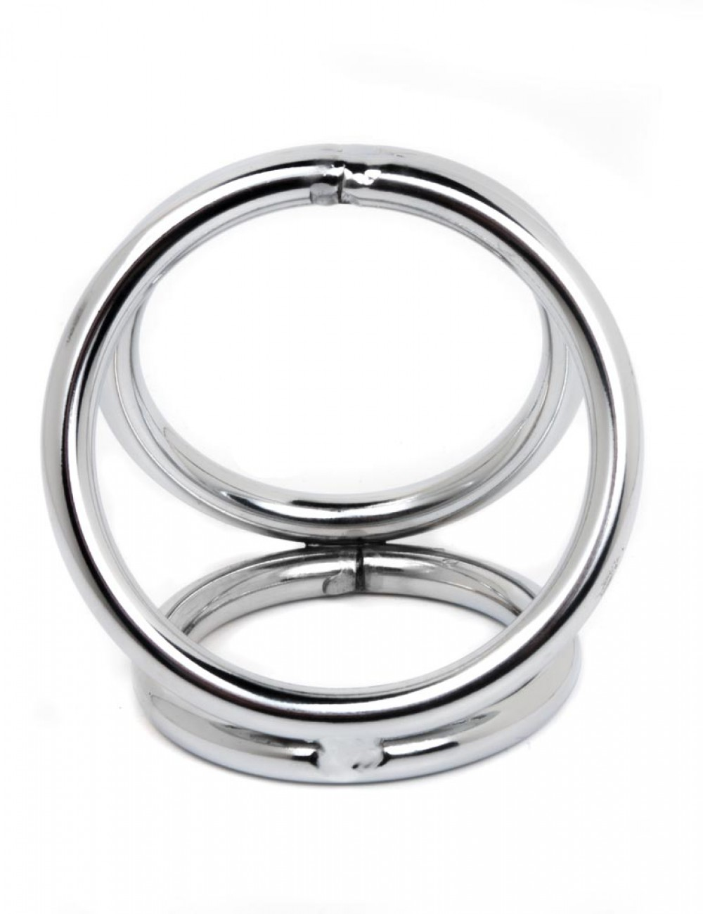 Chrome Triple Ring