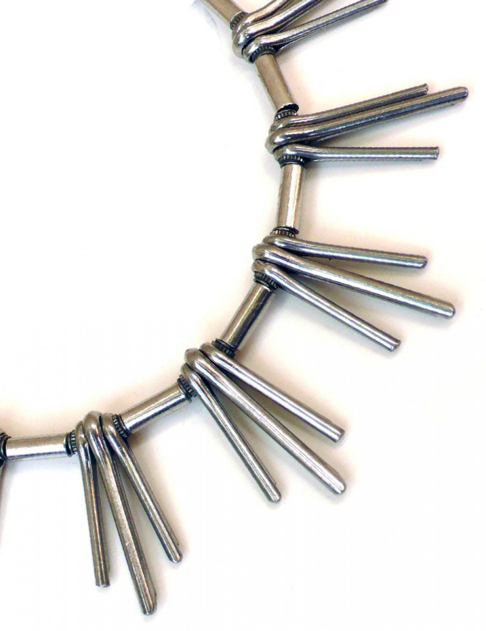 Phoenix - Locking Steel Necklace