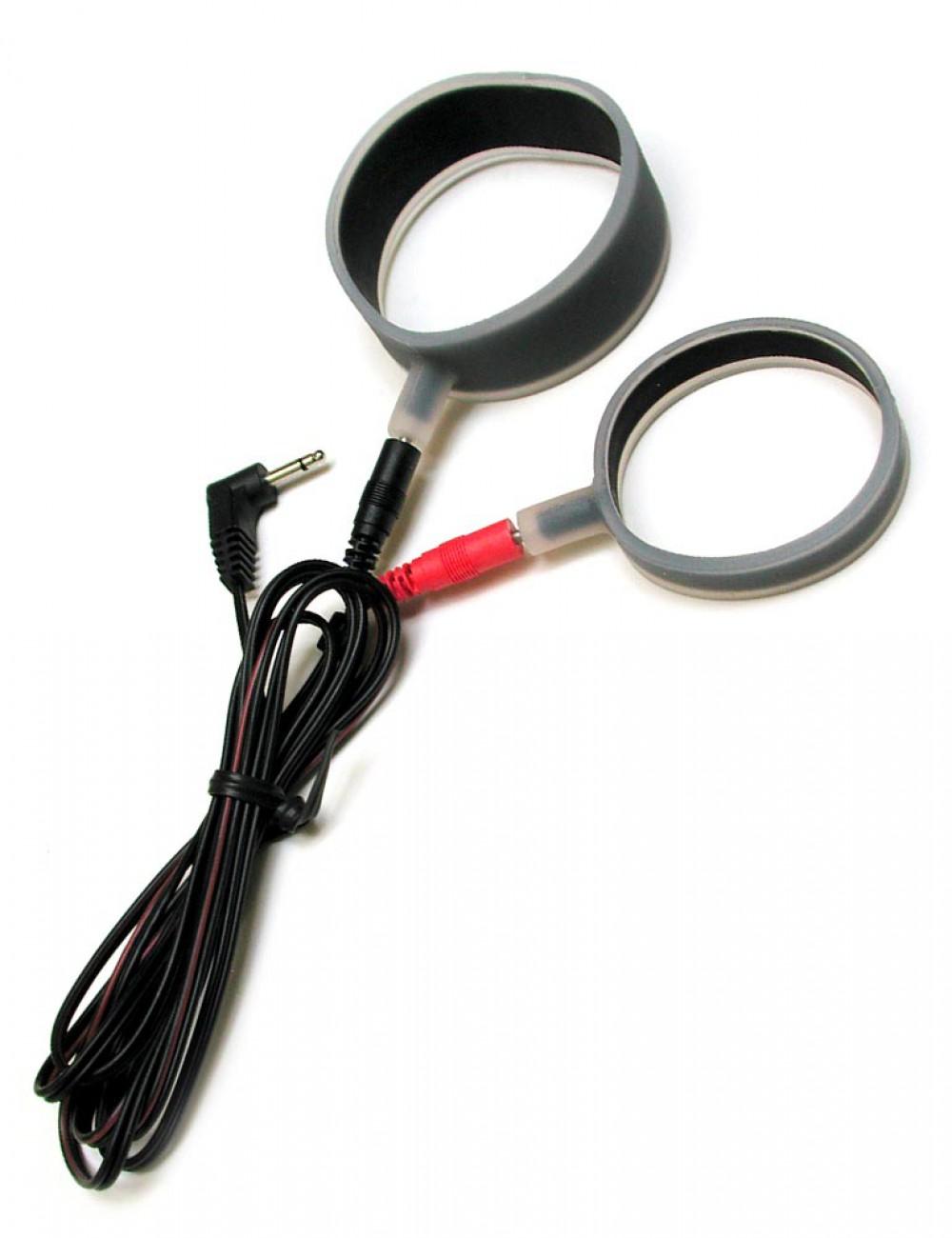 Rimba Silicone Cock Ring Set, Uni-polar