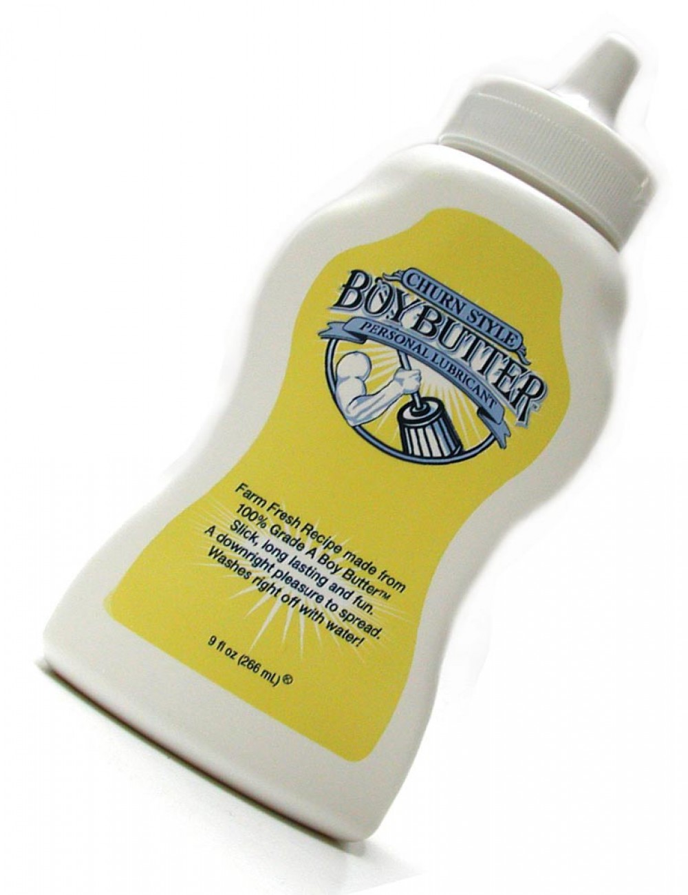 Boy Butter Lube, Squeeze Bottle, 9 Fl. Oz