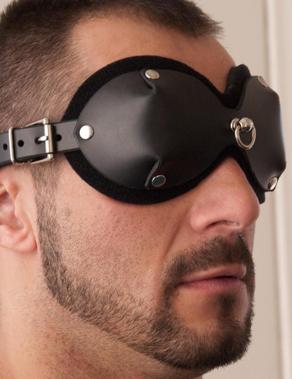 Mistress Heather Leather Blindfold