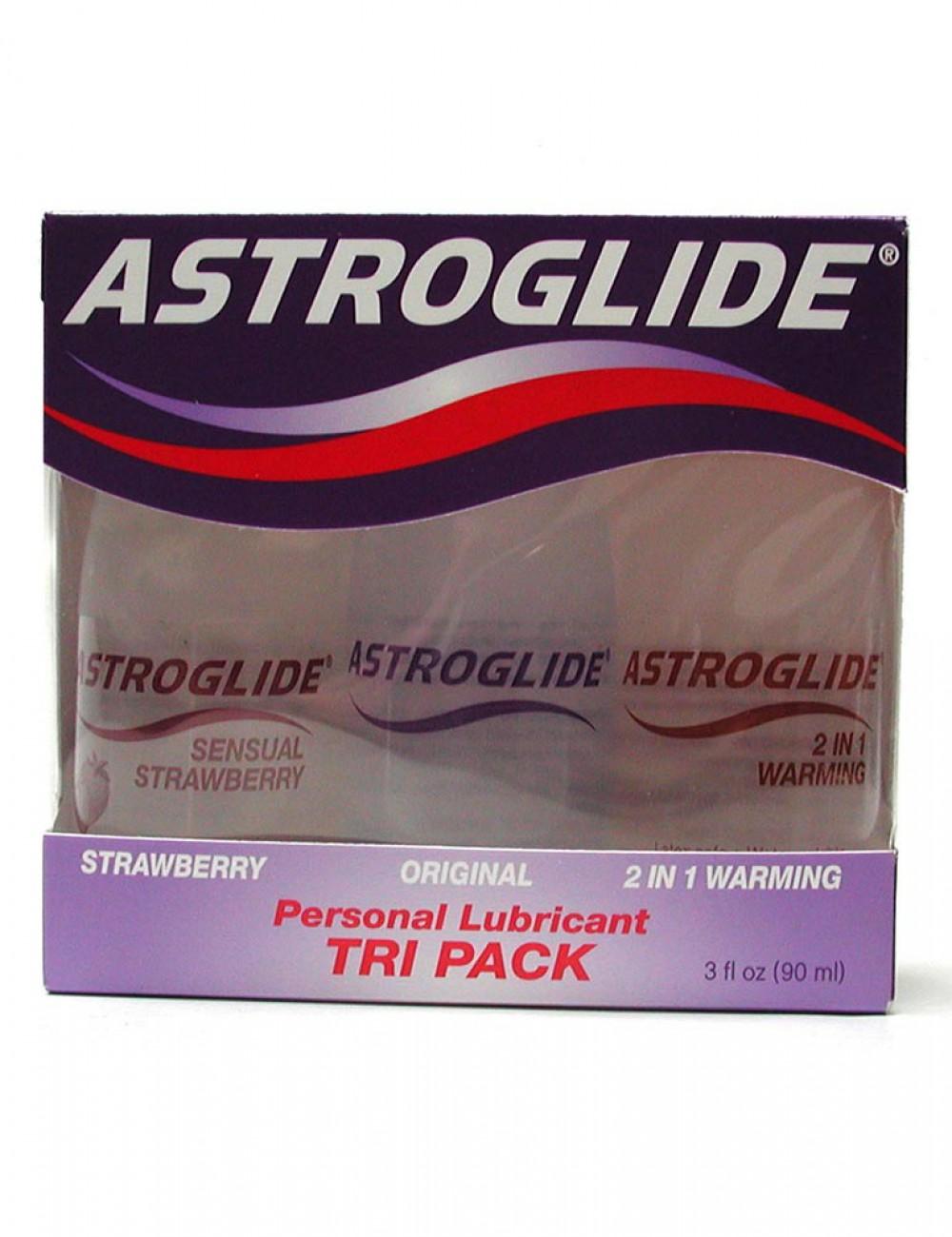Astroglide Tri-Pack